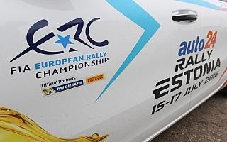 ERCエストニア予選速報:ルキヤナクがトップ、大輝・貴元は8・9番手タイム