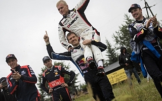 WRCポーランド・ポスト会見「いつかいいこともある」