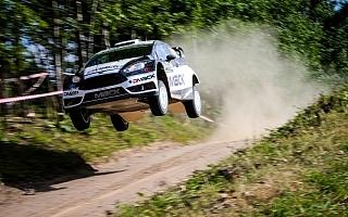 WRCポーランド:デイ2もタナックが首位を堅持