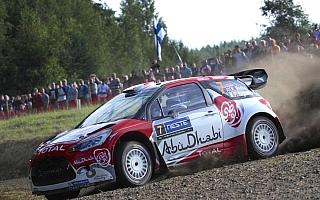 WRCフィンランド:競技2日目を終えてミークがリード