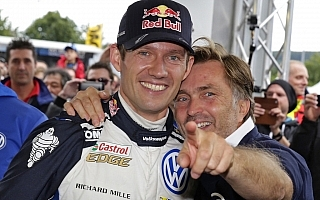 WRCドイツ:デイ3コメント「僕らのボスに最高の送別になった」