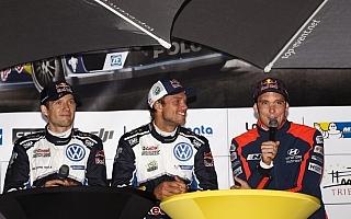 WRCドイツ:デイ1コメント「自分のパフォーマンスが誇らしい」