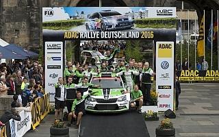 WRCドイツ:WRC2はラッピが連勝、シュコダが1-2-3-4独占