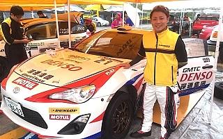 勝田貴元、GT86 CS-R3初のターマック戦で「しっかり完走してデータを持ち帰りたい」