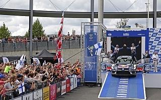 WRCフィンランド・ポスト会見「セバスチャンのコースオフで流れが変わった」