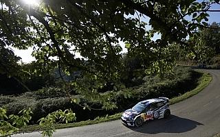 WRCフランス:シェイクダウンはオジエとラトバラが1-2