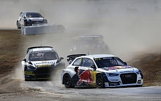 世界RXバルセロナ:エクストロームが優勝、選手権首位に再浮上