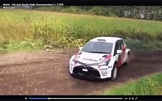 デビュー目前、CUSCO Vitz 4WDのテスト走行動画を初公開