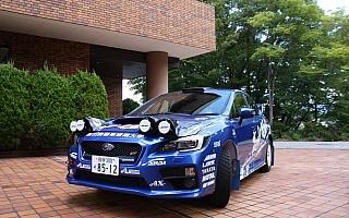 高山自動車短期大学、VAB型WRX STIでラリー北海道へ