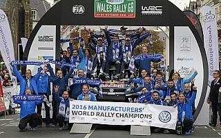 WRC英国:デイ3コメント「フォルクスワーゲンを選んで本当によかった」