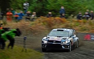 WRC英国:デイ1を終えて王者オジエがリード