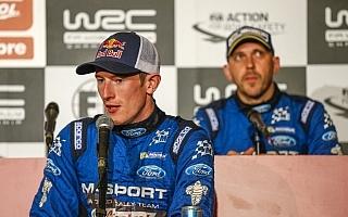 エバンス、WRC2優勝も「来季のことはまだ見えない」