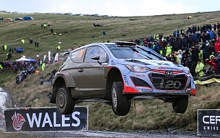 ヒュンダイ、WRC GBでの初ポディウムを狙う
