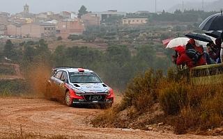 WRCスペイン:SS7までを終えて地元ダニ・ソルドがトップ