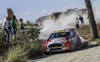 ERCキプロス:激戦の選手権2位争い、初日トップはルキヤナク