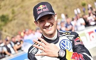 WRCスペイン:デイ3コメント「パパのトロフィーを見せてあげられる」