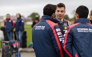 WRC英国:デイ2コメント「ティエリーとは接戦」