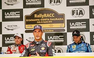 WRCスペイン:プレ会見「優勝争いができると思う」