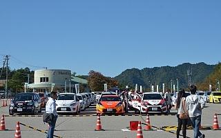 全日本ラリー新城:73台が集結し、3クラスで最終決戦
