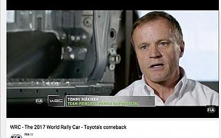 WRC、トヨタ復帰のティザー動画を公開