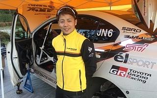 勝田貴元、VABでの初参戦に慎重な姿勢で臨む