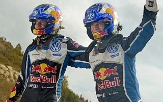 WRCスペイン・ポスト会見「カルロスがツイートしてきた」
