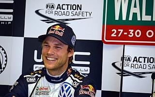 WRC英国:プレ会見「今回は2位にならなくてもいいんじゃない?」