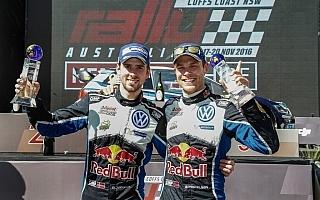 WRCオーストラリア:デイ3コメント「選手権2位よりもこの優勝」