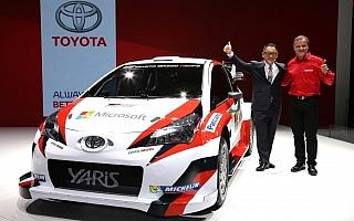 トヨタ、12月13日にWRC参戦体制発表