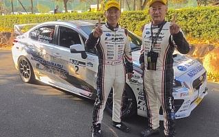 全日本ラリー選手権最終戦新城で勝田範彦が勝利、タイトル決める