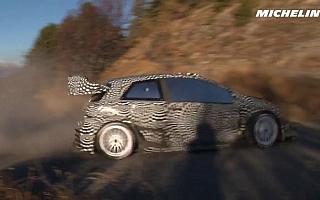 ミシュラン、ラトバラがドライブするヤリスWRCのテスト動画を公開