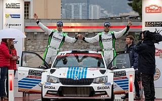 WRCモンテカルロ:WRC2はミケルセンが圧勝