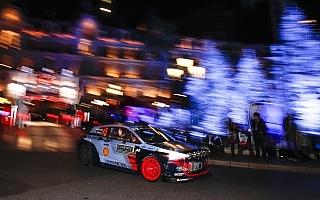 WRCモンテカルロ:ヒュンダイのヌービルが初日首位、トヨタはハンニネンが3番手に