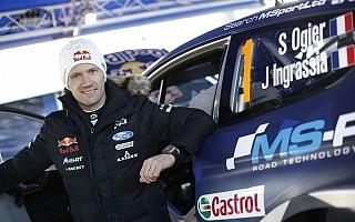 WRCモンテカルロ:プレ会見「引退を考えた時もあった」