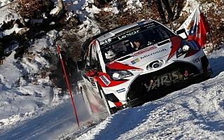 WRCモンテカルロで2位獲得のトヨタ、ハイライト動画を公開