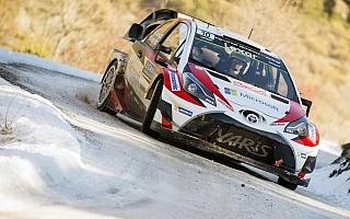 WRCモンテカルロ:トヨタ、18年ぶりのWRC復帰戦でラトバラが2位表彰台