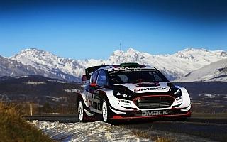 WRCモンテカルロ:エバンス、DMACKタイヤに初のターマックステージ勝利をもたらす