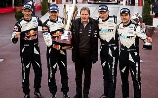 WRCモンテカルロ・ポスト会見「ウィルソン夫人から指令が出ていた」