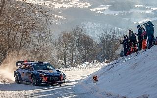 WRCモンテカルロ:2日目を終えてヌービルが首位堅持、ラトバラは総合4番手
