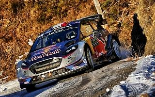 WRCモンテカルロ:3日目の最終SS、ヌービル脱落でオジエが首位。トヨタのラトバラも3番手に