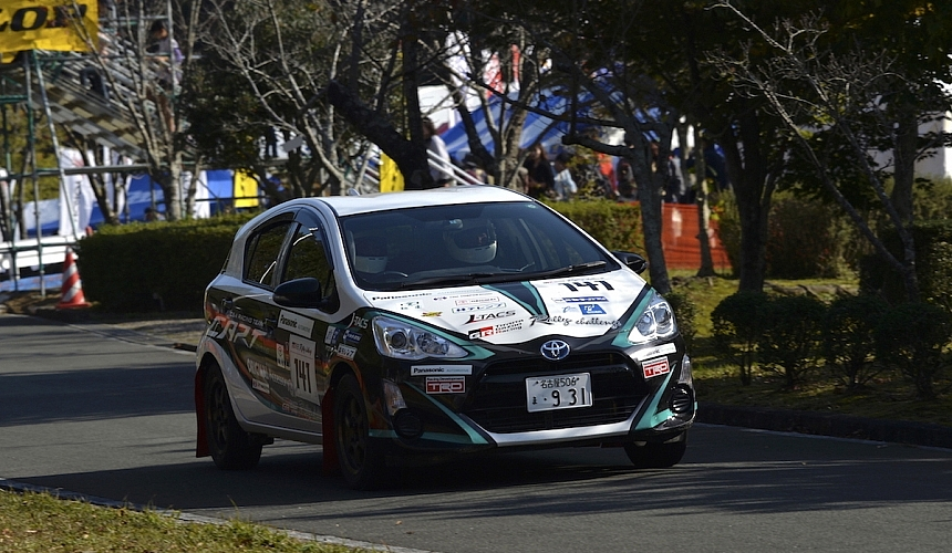 TOYOTA GAZOO Racing Rally Challenge 新城ラウンド