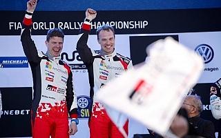 WRCスウェーデン:デイ4コメント、ラトバラ「モチベーションが超絶に高まった」