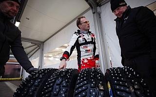 WRCスウェーデンの舞台裏、鍵を握るスタッド