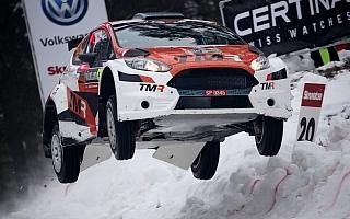 """WRCスウェーデン:勝田貴元が""""コリンズ・クレスト""""飛距離ランキング2位"""