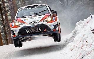 WRCスウェーデン:デイ3を終えトヨタのラトバラが総合首位