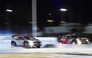 WRCスウェーデン:SS1カールスタッド スーパーSS対戦別コメント