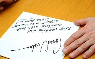 トミ・マキネン代表メッセージ入りサイン色紙のプレゼント締切は26日(日)まで!