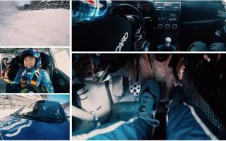 新井敏弘の左足ブレーキテクニックをマルチ画面でチェック、Red Bullのスピンオフ動画