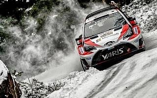 WRCスウェーデン:シェイクダウントップはオストベルグ