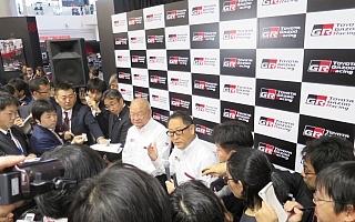 豊田章男社長「軸をぶらさず13戦を戦う」